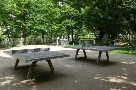 Jardin Charles Péguy - Paris - Table tennis
