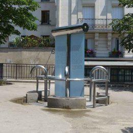 The public fountain Place Paul Verlaine