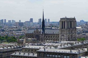 Notre Dame from the Tour Saint Jacques