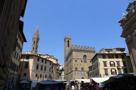 Florence-View of the Bargello