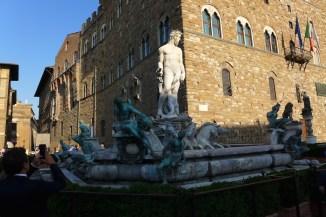 Florence-Piazza della Signoria-fountain