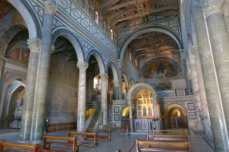 Florence-San Miniato-the inside