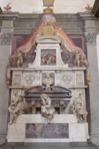 Florence-Santa Croce-Michelangelo's tomb