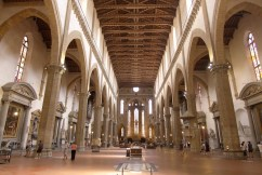 Florence-Santa Croce-The inside