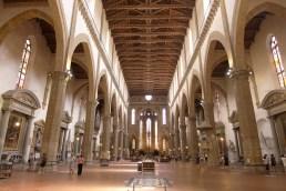 Florence-Santa Croce-The inside