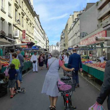 Marche Aligre Paris-by bicycle