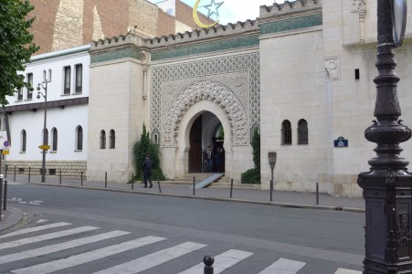 Paris-The Mosque-entrance