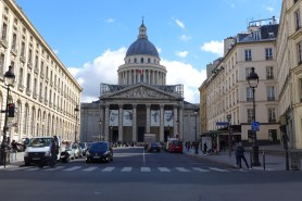 Paris-The Pantheon from the rue Soufflot