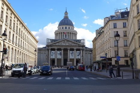 Paris-The Pantheon from the rue Soufflot