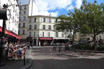 Paris-Place de la contrescarpe
