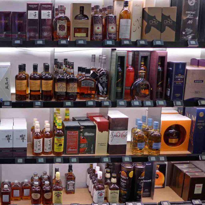 Le Bon Marche-Paris-La cave-Whiskies
