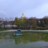 Musée Rodin-Paris-view on the Invalies from the garden