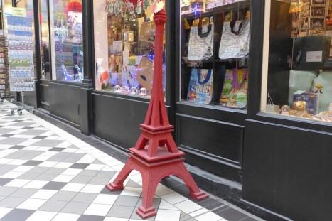 Passage Jouffroy-Paris-Souvenirs shop
