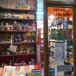 Passage Verdeau-Paris-Bookshop Roland Buret