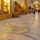 Beautiful mosaic floor-Galerie Vivienne-Paris