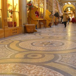 Beautiful mosaic floor-Galerie Vivienne-Paris