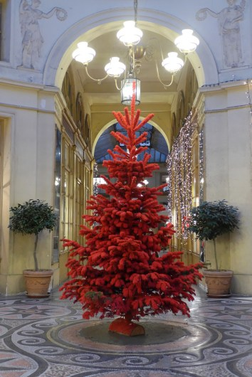 Christmas at Galerie Vivienne-Paris