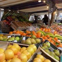 Marche Monge Paris-fruit and vegetable stand