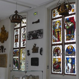 Carnavalet Museum Paris-stained glass window