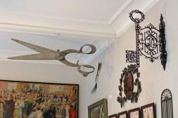 Carnavalet Museum Paris-various signs: cutler and locksmith