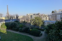 Exploring Passy-Paris- View from Balzac House