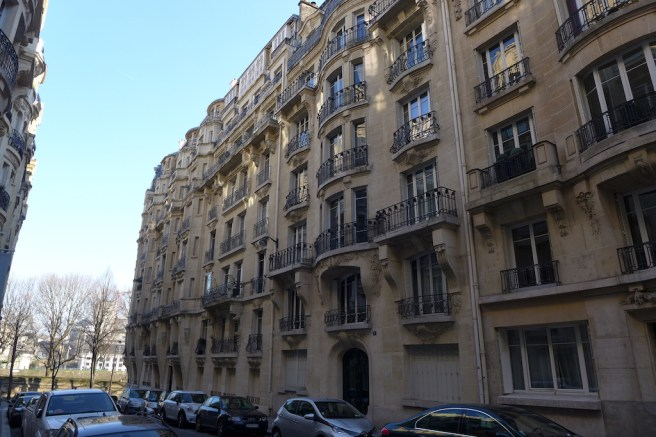 Exploring Passy-Paris-Belle Epoque Buildings Avenue Fremiet