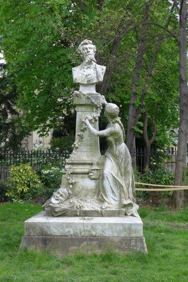 Parc Monceau Paris - Edouard Pailleron Memorial