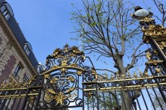 Parc Monceau Paris - Entrance Avenue Van Dyck