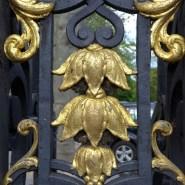 Parc Monceau Paris - Detail of a gate
