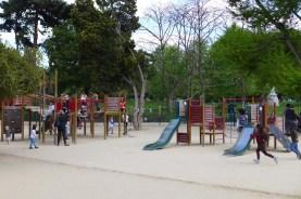 Parc Monceau Paris-Children's Play area