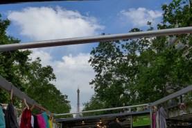Marche-Saxe-Breteuil-Paris-View on the Eiffel Tower