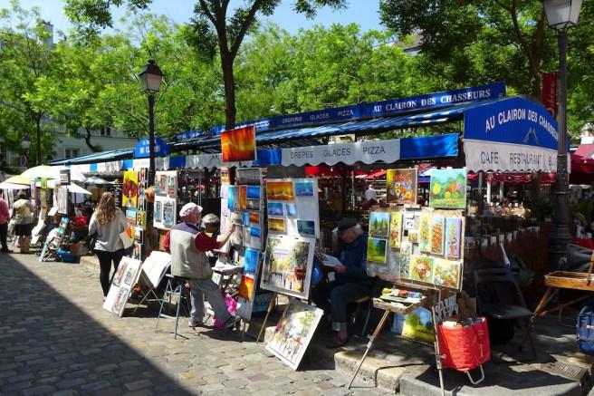 Montmartre-Paris-Place du tertre-01