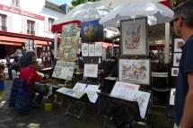 Montmartre-Paris-Place du tertre-03