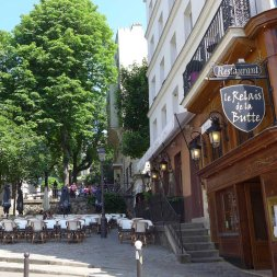 Montmartre-Le Relais de la butte-Place Emile Goudeau