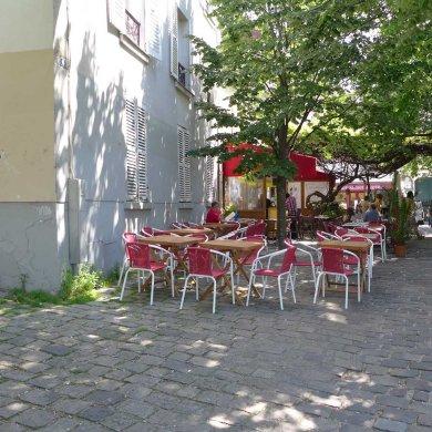 Montmartre- Place du Calvaire