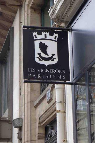 Les Vignerons Parisiens-Sign