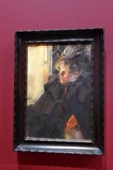 Anders Zorn-Etude pour omnibus-1892