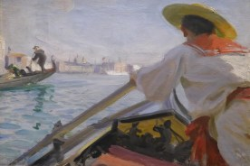 Anders Zorn-Dans ma gondole-1894