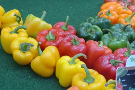 Marche des enfants rouges-Organic Peppers