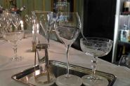 Champagne Bar Le Dokhans-Champagne glasses