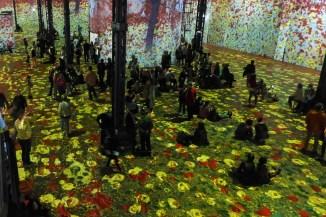 Atelier des lumieres-Paris-Klimt et la nature-02