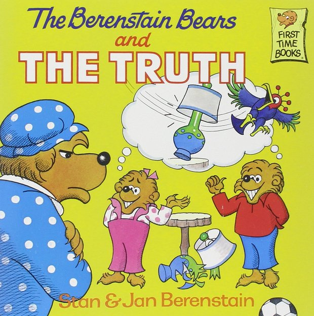 The Berenstain Bears and the Truth is a children's book that teaches values