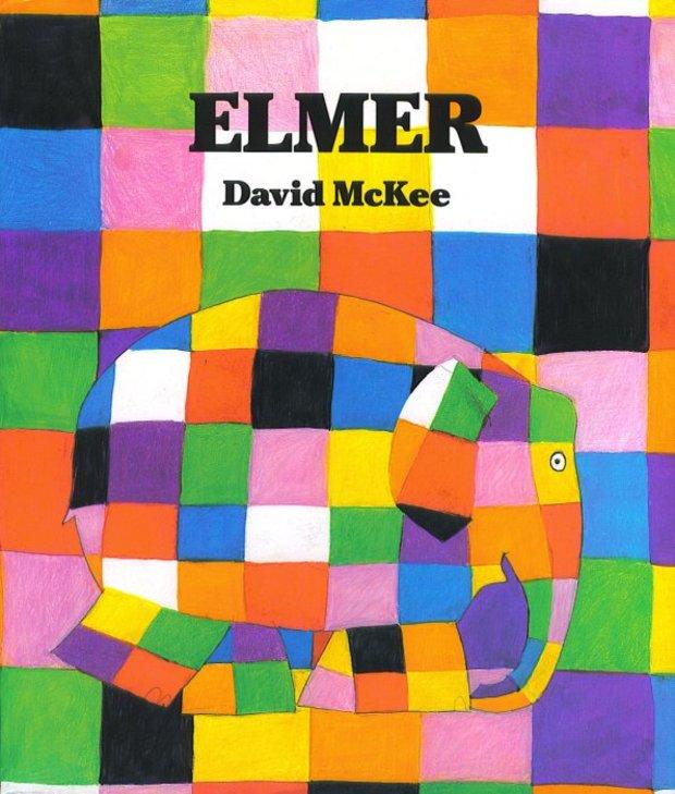 Elmer is a children's book that teaches values