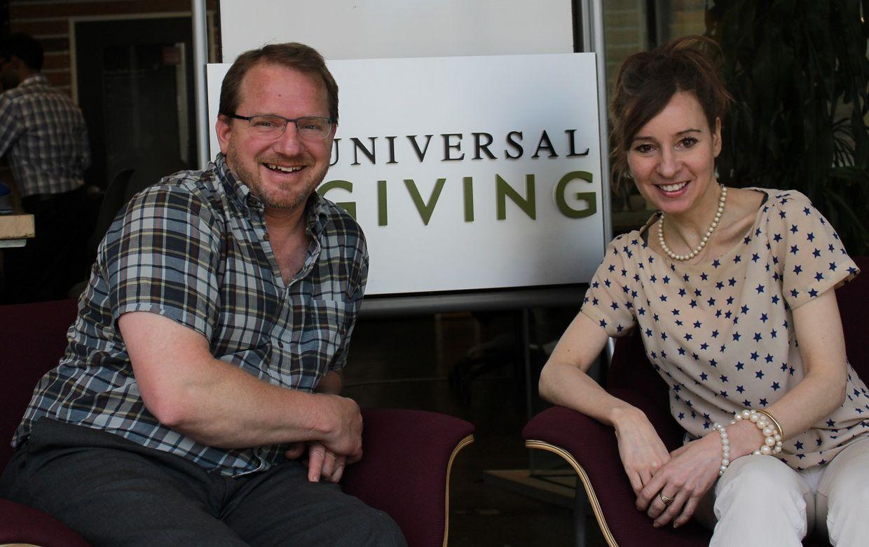 UniversalGiving CEO Pamela Hawley