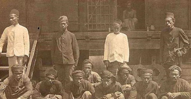 Ilustrasi pos ronda masa penjajahan Jepang | Foto: Historia.id/Hendaru Tri Hanggoro