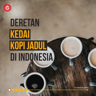 Deretan Kedai Kopi 'Jadul' di Indonesia | Good News From Indonesia