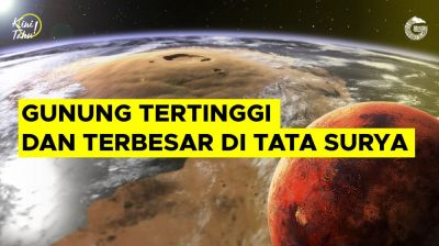 Mengenal Gunung Teringgi dan Terbesar di Tata Surya   Good News From Indonesia