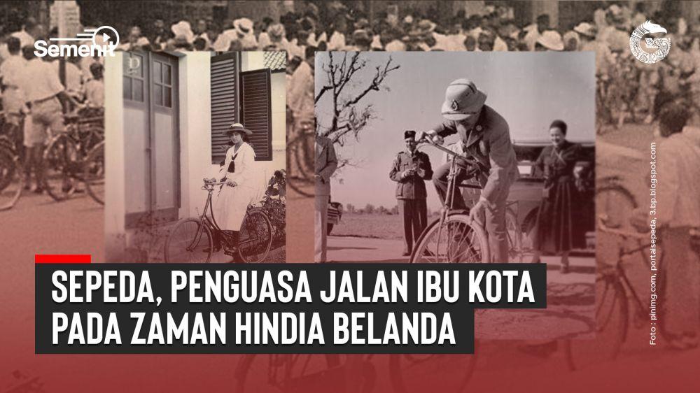 Sepeda, Penguasa Jalan Ibu Kota pada Zaman Hindia Belanda | Good News From Indonesia