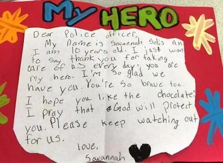 10yo-homemade-card-for-police