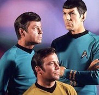 Star Trek - Shatner and Nimoy